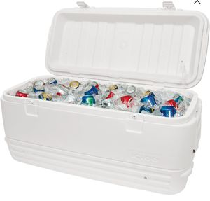 120qt Heavy Duty Cooler Ice Chest Beach Camping Tailgate BBQ for Sale in Glendora, CA