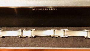 Men's SS Diamond Bracelet for Sale in Dallas, TX