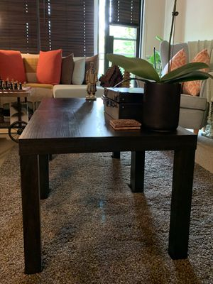 "Pair of Black Coffee Tables (21"" x 21"") for Sale in Brooklyn, NY"