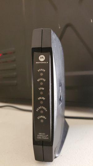 SB5101 Cable Modem Motorola for Sale in Orlando, FL