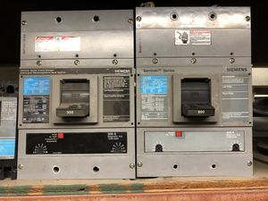 600 , 300, and two 125 amps circuit breakers for Sale in HUNTINGTN BCH, CA