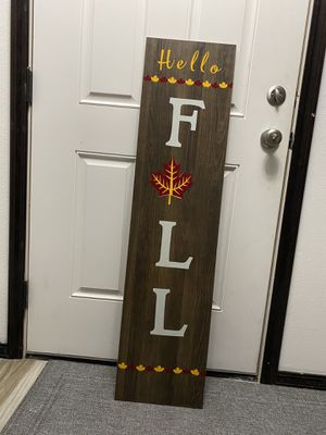 Welcome sign (fall) for Sale in Pasco, WA