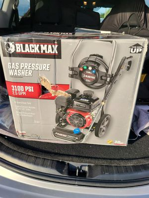 New in the box Black max pressure washer.3100 psi for Sale in Tampa, FL
