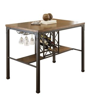 Wayfair Trent Austin Design Woodside Counter Height Dining Table Wine Rack for Sale in Maple Valley, WA