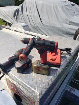 Snap on 18 volt drill for Sale in Sebastian, FL