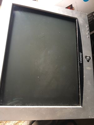CRT Monitor Gateway PC Tube style Monitor for Sale in Houston, TX