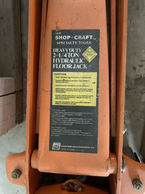 2-1/4 ton hydraulic floor jack - great condition! Just dusty for Sale in Arcadia, CA
