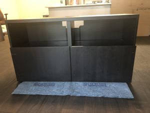 TV Stand w/ drawers, black/brown for Sale in Orlando, FL