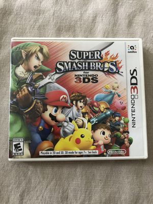 Super Smash Bros for Nintendo 3DS for Sale in Gardena, CA