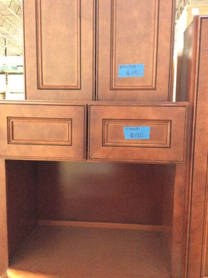 Kitchen cabinets leftovers/ see pictures for price and measurements $123 for Sale in Grove City, OH