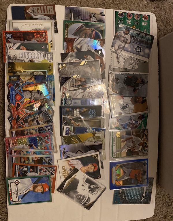 Super Huge lot including: 2014 Topps Mike Trout Team logo patch