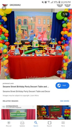 I am looking for sesame street birthday theme for Sale in Chicago, IL