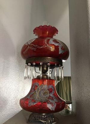 3way hurricane lamp for Sale in North Las Vegas, NV
