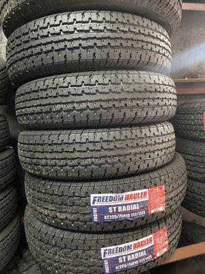 St225/75/15 trailer tires for Sale in Arlington, TX