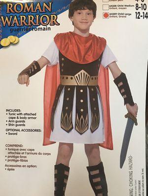 Roman warrior costume - Kids Large (12-14) for Sale in Brea, CA