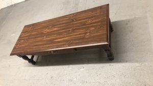 Solid wood coffee table good condition for Sale in Bethlehem, PA