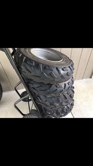 ATV Rims & Tires- off 2002 Polaris 500 HO for Sale in Tacoma, WA