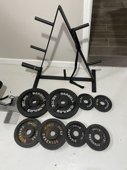 Metal Weights with Rack for Sale in Chicago, IL