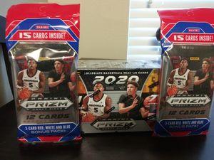 2020 Panini Prizm Draft Picks Collegiate Basketball Blaster Box & 2 Cello Packs for Sale in Jonesboro, GA