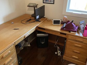 Wood Desk for Sale in Tacoma,  WA