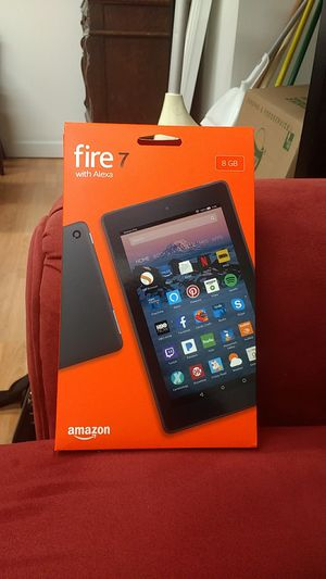 Amazon Fire 7 tablet 8 GB (charger is not included) for Sale in Chicago, IL