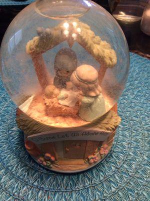Precious Moments Globe Music Box Asking $25.00 for Sale in Clovis, CA