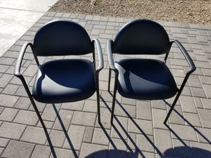 Black waiting chairs for Sale in Phoenix, AZ