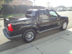 $$$ Vendo Ford Explorer Sport Trac 02 con Cover Bed Rines Cromados Llantas Mud Terraim OBO$$$ for Sale in Long Beach, CA