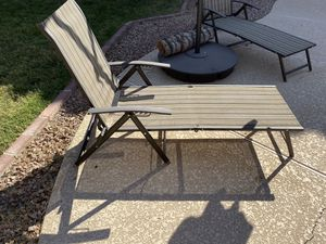 2 lounge chairs-$60 obo for Sale in Chandler, AZ