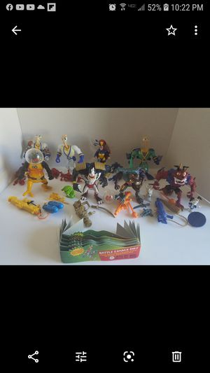 Earthworm jim action figure collection for Sale in Newberg, OR