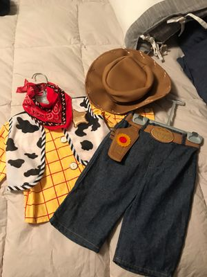 Disney woody costume for Sale in Lancaster, CA