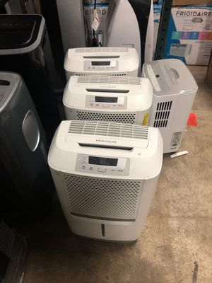 New out of box Frigidaire dehumidifiers 30-50-70 for Sale in Atlanta, GA