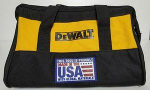 DeWalt small size canvas bag brand new $10.00 each bag/cada bolsa, firm price/precio firme!!! for Sale in Lake Worth, FL