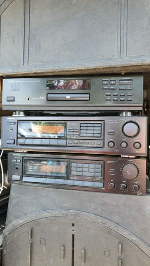 ONKYO RECEIVERS AND DENON CD PLAYER FIRST $95 All 3 Units! FIRM! for Sale in Modesto, CA