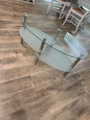 Glass coffee table for Sale in Elk Ridge, UT