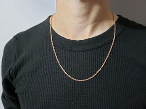 14k Rose Gold Rope Chain for Sale in Addison, TX