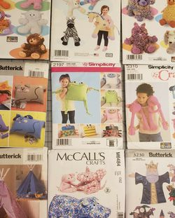 9 Patterns For Crafts And Children's Toys for Sale in Atlanta,  GA