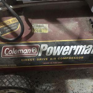 Coleman 11 Gallon Air Compressor for Sale in Minneapolis, MN