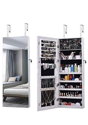 Jewelry full length Mirror Organizer/Cabinet/Armoire for Sale in New York, NY