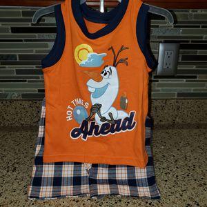Disneys Olaf 2 piece set size 18 months for Sale in Lakeland, FL