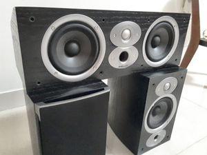 Polk Audio RTI A1 Bookshelf Speakers and Polk Audio CSI A4 Center Channel Speaker. Brand New. for Sale in Davie, FL