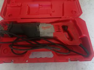 12 Amp SAWZALL Reciprocating for Sale in Jacksonville, FL