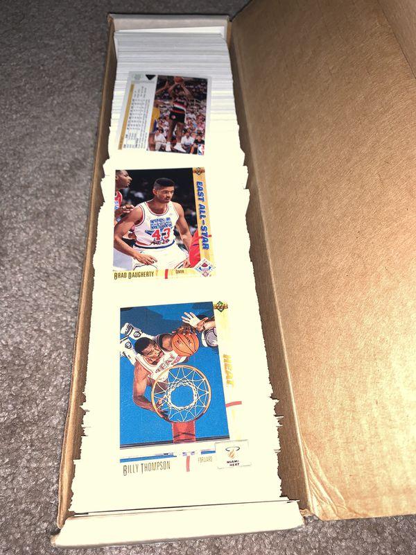 1990-1991-92 Upper Deck Basketball cards