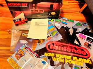 Original Nintendo action set Entertainment System (BOX ONLY!!!) for Sale in Peoria, IL
