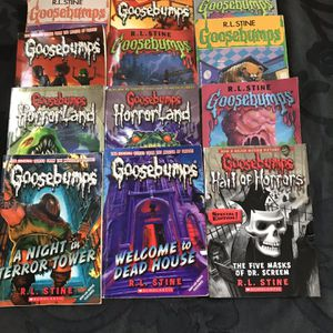 GOOSEBUMPS BOOKS- Only 12 Are Still Available for Sale in Fort Lauderdale, FL