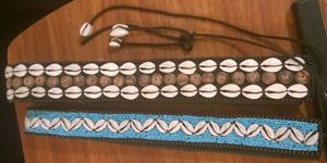 Stylish Cowrie Beaded Belts for Sale in Bethesda, MD