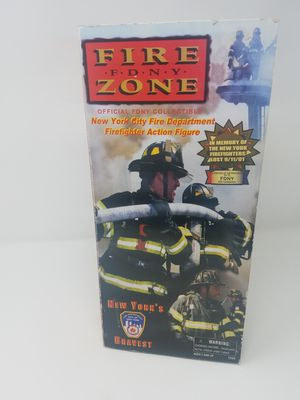 Fire Zone FDNY Firefighter Action Figure New Official FDNY Collectible for Sale in Las Vegas, NV