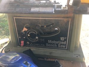 Delta 10 inch table saw for Sale in Tempe, AZ