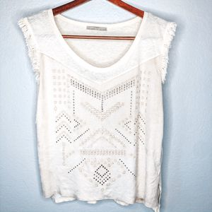 Zara Shirt With Fringe Trim for Sale in San Jose, CA