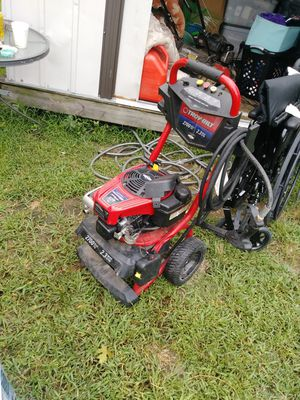 Nice, perfect working, all attachments hose and wand included. 2700 psi troybuilt pressure washer 100 obo for Sale in High Point, NC
